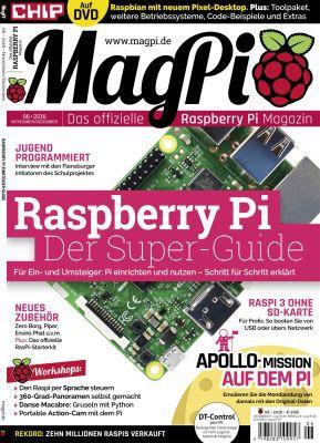 MagPi Sonderheft 05 und 06/16 als Download kostenlos