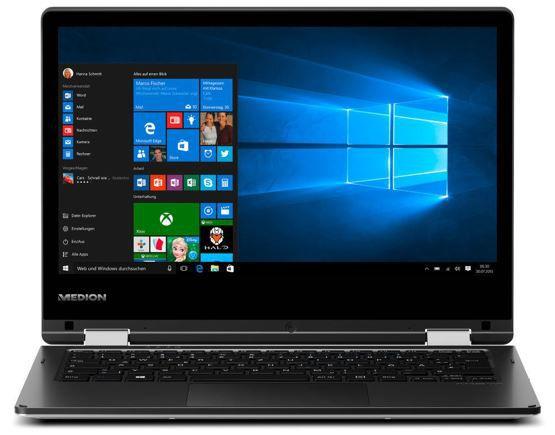 Medion AKOYA E2216T MD 99940   12 Notebook mit IPS FullHD Display für 166,66€