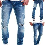 Merish J1154 – Destroyed Herren Jeans für 19,90€