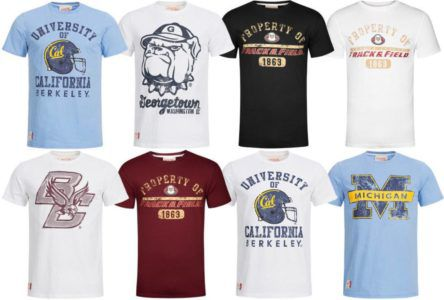 American Freshman   Herren Football T Shirt für 11,99€