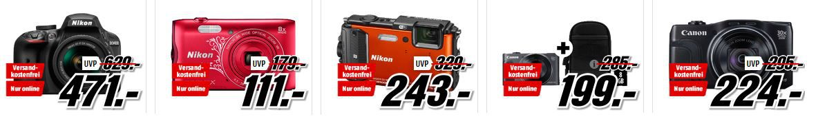 Nikon Coolpix Media Markt Foto Late Night: günstige Kameras und Zubehör