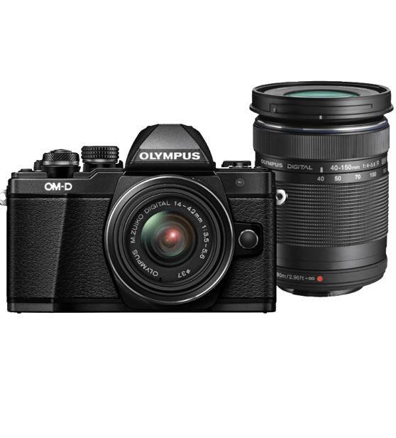 Olympus OM D E M10 Mark II   Systemkamera + 4 42 mm II R + 40 150 mm II R Objektive statt 799€ für 699€