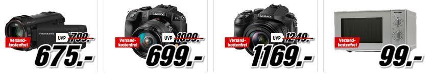 Pansonic Angebote Media Markt Mega Marken Sparen: z.B. günstige Geräte von Beurer,  Jura , Panasonic, Tefal