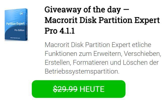 Macrorit Disk Partition Expert Pro 4  gratis