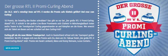 """Freikarten für """"Promi Curling"""" am 26. Februar in Mönchengladbach"""