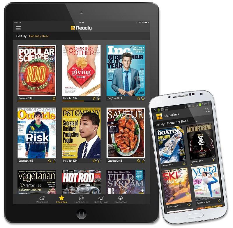 2 Monate Readly Magazin Flatrate für 0,99€ (statt 19,98€)   über 3.000 Magazine