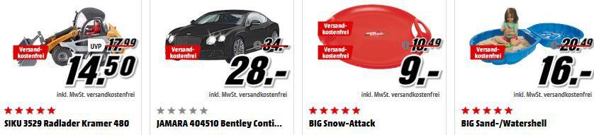 Media Markt Spielwaren Tiefpreisspätschicht   z.B. Drohnen ab 16€   Hörpiele die drei ??? für je 5€
