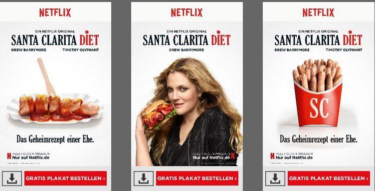 Gratis Serien Plakat: Santa Clarita Diet