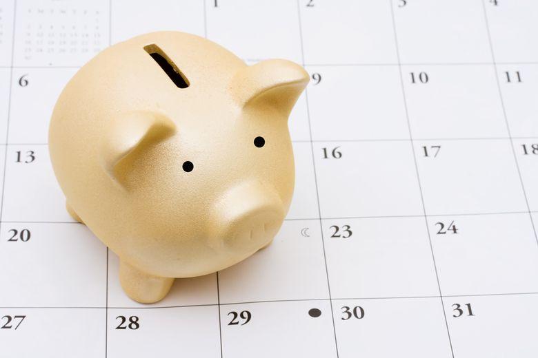 Sparkalender – Das ganze Jahr sparen