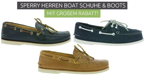 Sperry Herren Boat Schuhe ab 79,99€
