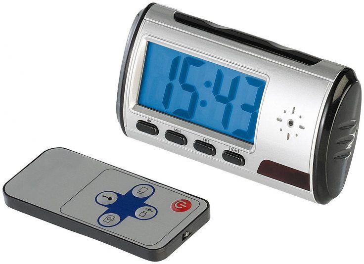 Spycam Wecker + Fernbedienung für 13,47€ inkl. VSK