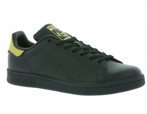 adidas Originals Stan Smith J Kinder Sneaker Schwarz für 29,99€