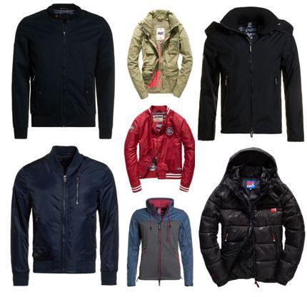 Superdry Damen und Herren Jacken und Pullover für je 39,95€