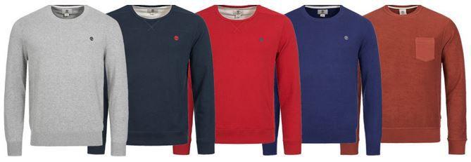 TIMBERLAND  Earthkeepers Herren Sweatshirt und Pullover für je 34,99€