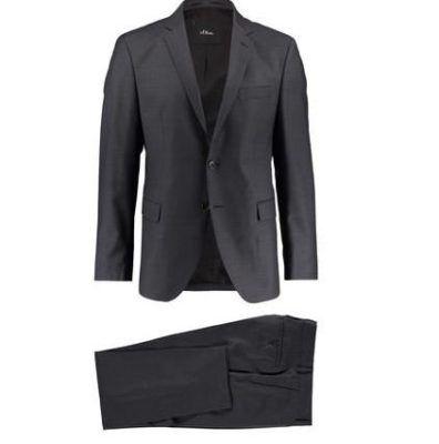 s.Oliver Triest   Herren Anzug statt 169€ für 99,90€