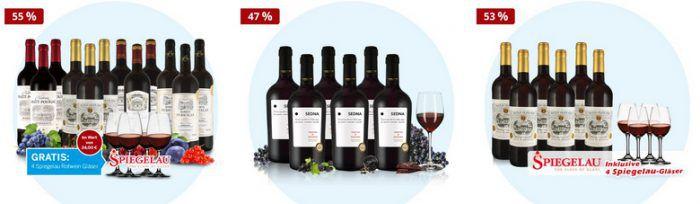 17% Rabatt auf Ebrosia Weinpakete, z.B. 6 Fl. Primitivo Esempio 38€   TOP