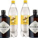 2 Fl. Hendrick's Gin 44% + 4x Schweppes Tonic Water für 54,98€ (statt 72€)