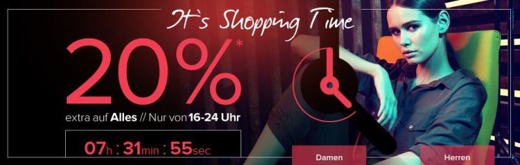 dress for less   Shopping Time bis 24Uhr mit 20% Rabatt auf alles + Gutschein