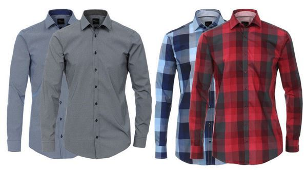VENTI Herren Business und Freizeit Hemden für je 25,99€