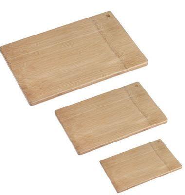 WMF 3er Set Bambus Schneidebretter 45x27cm & 38x26cm & 26x20cm für 29,95€