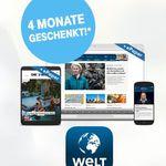 Nur für Telekom-Kunden: 4 Monate WELTplus Gold gratis (Wert: 120€)