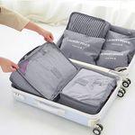 6 verschiedene Reisetaschen für den Koffer für ~5,04€