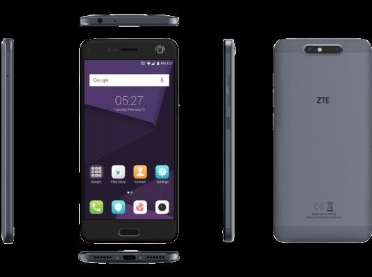 ZTE Blade V8 32 GB Grau Dual SIM e1487511901215 ZTE Blade V8   5,2 Smartphone mit 32 GB, LTE und Dual Sim ab 249,99€ (statt 270€)   nur Vorverkauf!