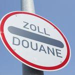 Zoll Schild