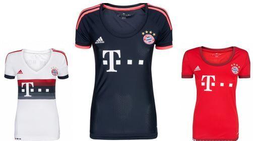 adidas Performance FC Bayern München Damen Trikot adidas Performance FC Bayern München Damen Trikot für je 12,99€