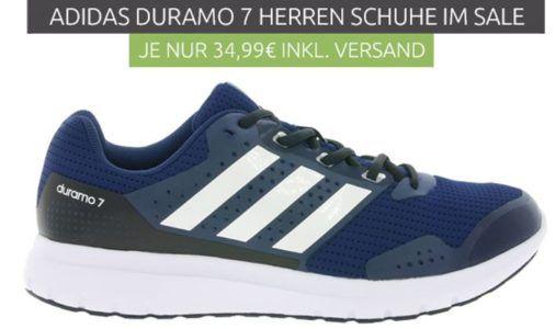 adidas Performance Duramo 7   Herren Laufschuhe für 34,99€