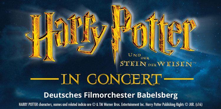 Harry Potter in Concert am 29.07. in Berlin inkl. Hotel & Frühstück ab 75€ p.P.