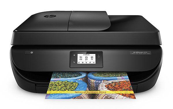 Hewlett Packard HP Officejet 4650   4 in 1 Tinten Multifunktionsgerät für 59,16€ (statt 81€)