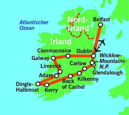 8 Tage Irland Rundreise inkl. Frühstück, Flug & allen Transfers ab 499€ p.P.