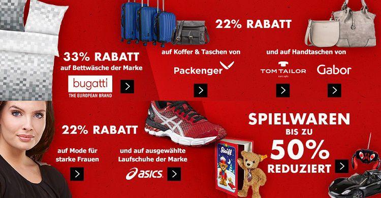 kw07 homepage teaser we1802 01 Karstadt Kracher mit z.B. 44% Rabatt auf ausgewählte Uhren, bis 50% Rabatt auf Spielwaren ...