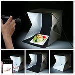 Mini Fotostudio mit LED-Beleuchtung für 3,98€