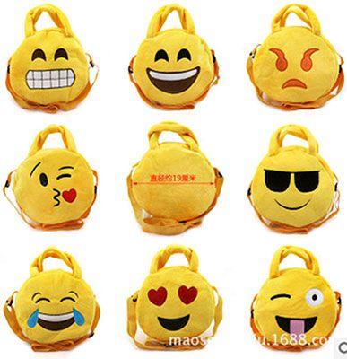 Kleine Kinder Emoji Umhänge  bzw. Tragetasche für 2,37€