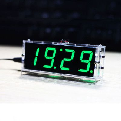 DIY LED Uhr   digitale Uhr im Bausatz ab 6,75€
