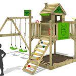 Fatmoose RockyRanch Roll XXL – Spielhaus mit Rutsch und Schaukel für 482,99€ (statt 600€)