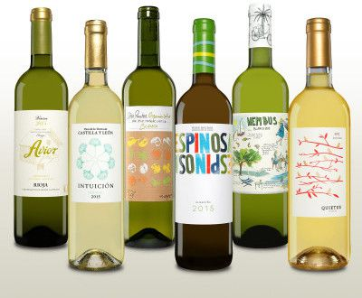 6 Flaschen spanischer Weißwein (verschiedene Sorten) für 30€ (statt 53€)