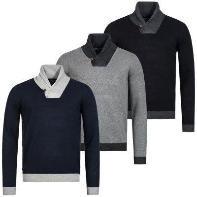 s l160039 e1488015673104 Kensington Eastside   Herren Sweatshirts mit Stehkragen Stanbury  für 13,99€ (statt 24€)