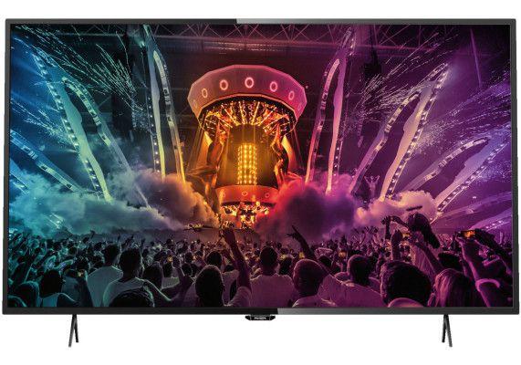 Philips 49PUS6101/12   49 Fernseher mit UHD und Smart TV für 444€ (statt 557€)