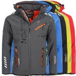 Geographical Norway Herren Outdoor Softshell Funktions Jacken für 52,42€ (statt 65€)