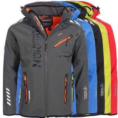 Geographical Norway Herren Outdoor Softshell Funktions Jacken für 52,42€ (statt 65€)