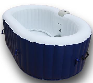 Aquaparx AP 550SPA Whirlpool   Aufblasbarer Whirlpool (190x120 cm) für 319€ (statt 371€)