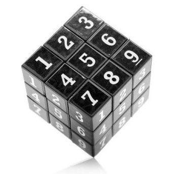 Sudoku und Zauberwürfel in Einem   Gedächtnisspiel für 1,72€