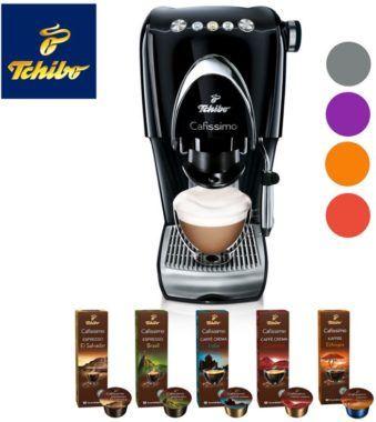 Tchibo Cafissimo Classic Kaffeemaschine für 49€ (statt 70€)   inkl. 100 Kapseln