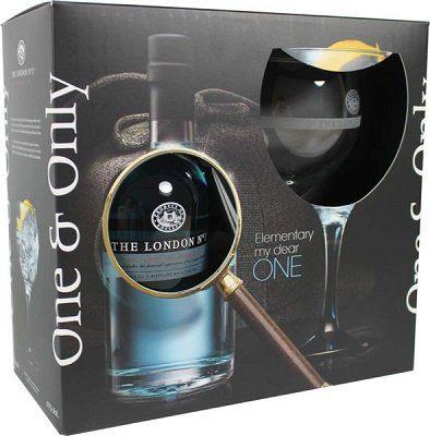 London No.1 in Geschenkverpackung mit Glas für 39,80€ (statt 46€)