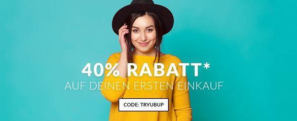 trybup 40% Rabatt für Neukunden bei ubup + VSK frei