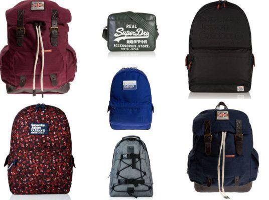 Superdry Taschen und Rucksäcke für je nur 23,95€