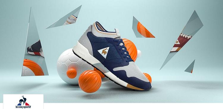 Le Coq Sportif Sale bei vente privee   z.B. Techracer Sneaker ab 20€ (statt 45€)